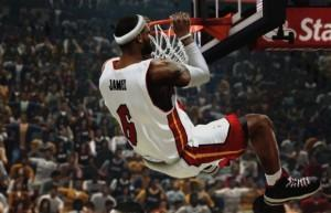 NBA 2K14 - Les dunks spectaculaires sont bien sûr au rendez-vous