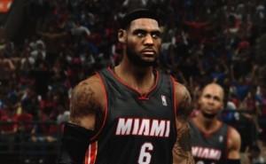 LeBron James est la star ce NBA 2K14