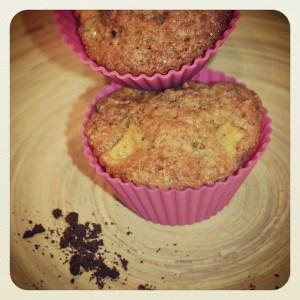 Muffins pomme/vanille