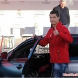 Les joueurs du Real Madrid reçoivent leurs nouvelles Audi