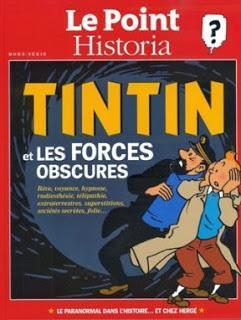Le Point / Historia, troisième hors-série Tintin spécial paranormal