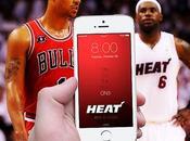 fond d'écran iPhone couleurs Bulls (NBA)...