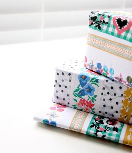 handmade paper wrap