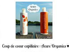 Coup de coeur capillaire : Acure Organics ♥
