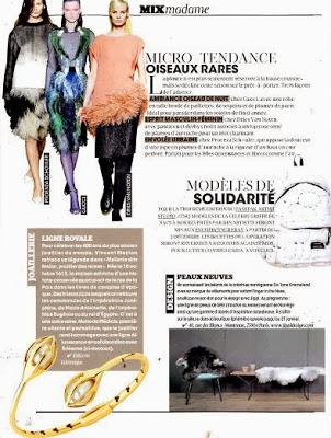 Queen B & Madame Figaro