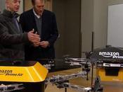 Amazon lancer mini-drones pour livrer colis moins minutes