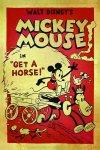 Mickey-a-cheval-Poster
