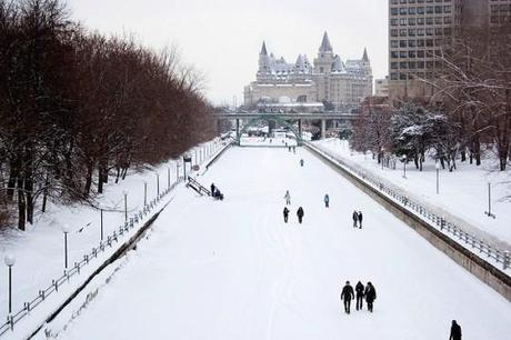 Rideau Canal Skyway Ottawa e1321545932938 Amazing Outdoor Ice Skating Rinks