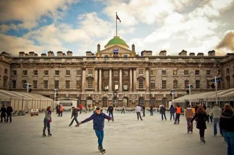 Somerset House e1291737354821 Amazing Outdoor Ice Skating Rinks