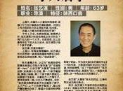 Zhang Yimou disparu