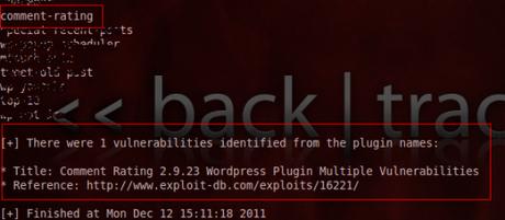 plugin vul WPScan : Détecter les vulnérabilités d'un site WordPress