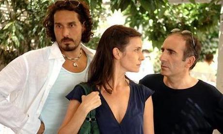 Vincent Elbaz, Géraldine Pailhas et Philippe Harel