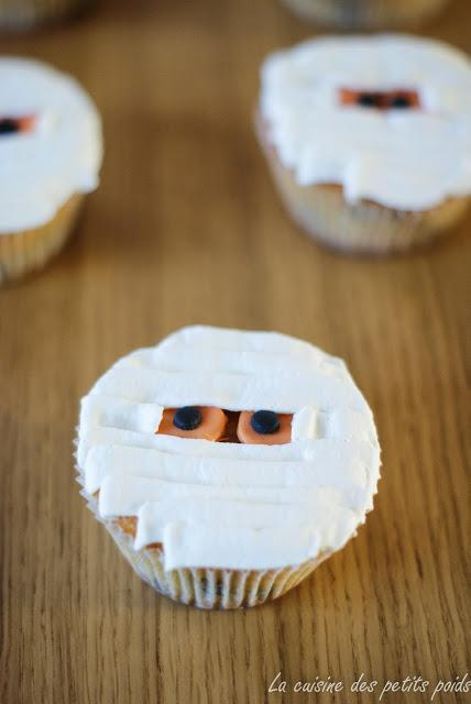 De délicieux cupcakes pour fêter Halloween
