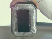 Honda présente airbag pour smartphones