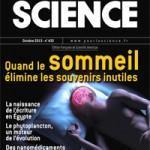 Pour la Science d'octobre