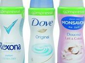 #News Unilever nouveaux aérosols, petits...mais costaux