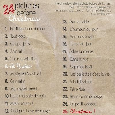 24 Pictures Before Christmas : récap de la première semaine