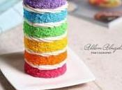 Tuto Fimo Gâteau multicolore
