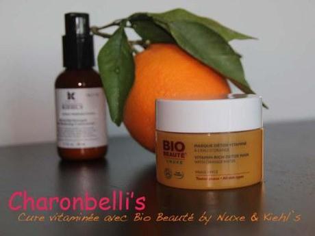 Ma cure de vitamine C avec Bio Beauté by Nuxe et Kiehl's - Charonbelli's blog beauté