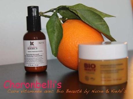 Ma cure de vitamine C avec Bio Beauté by Nuxe et Kiehl's (1) - Charonbelli's blog beauté