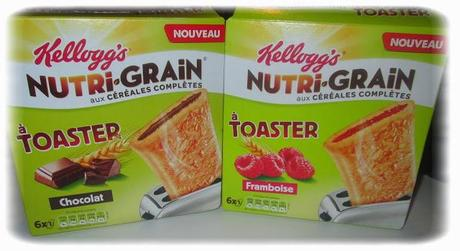Test : Nutri-grain à toaster
