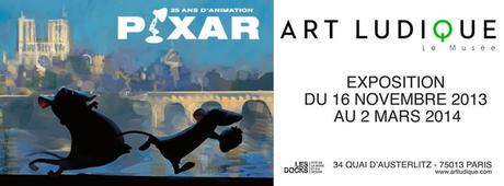 Exposition Pixar Paris 2013-2014