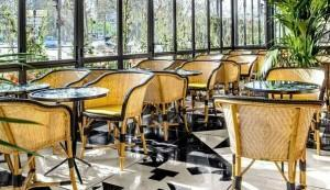 Visite déco : le café Français