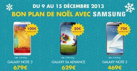 Sosh: De 50 à 100 € de remise sur les Samsung Galaxy...