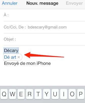 iphone ipad personnaliser corrections automatique 1 iPad iPhone: comment personnaliser le système de corrections automatique