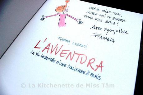 Questionnaire de Miss Tâm #2 : Entretien avec Fiamma Luzzati (textes et dessins)