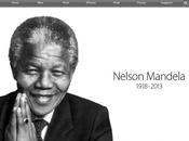 Apple rend hommage Nelson Mandela