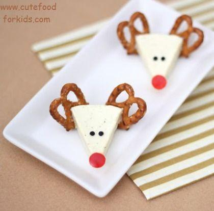 Cheese Reindeer