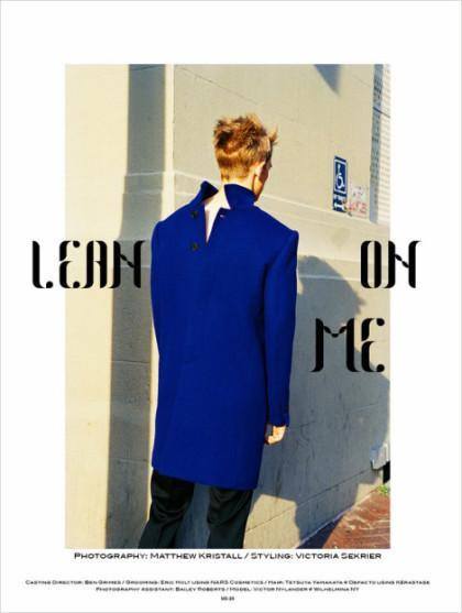 LEAN ON ME! SID MAGAZINE