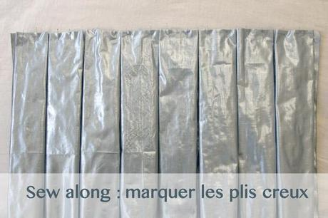 sew along jupe plis creux plis Sew along de la jupe à plis creux   jour 2 : les plis