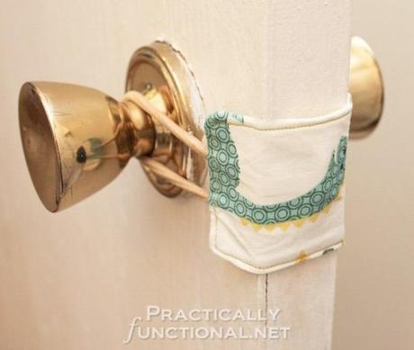 recouvre loquet DIY : recouvrez les loquets des portes