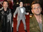artistes masculins moins biens habillés Music Awards