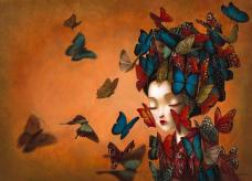 Madame Butterfly – Benjamin Lacombe