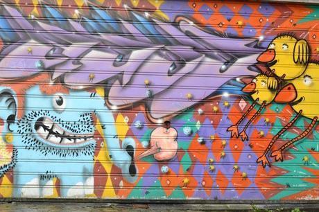Murs peints Bruxelles 1