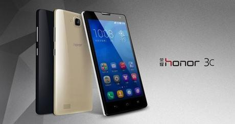 Huawei Honor 3C Huawei Honor 3X et 3C : Low cost, et pourtant..