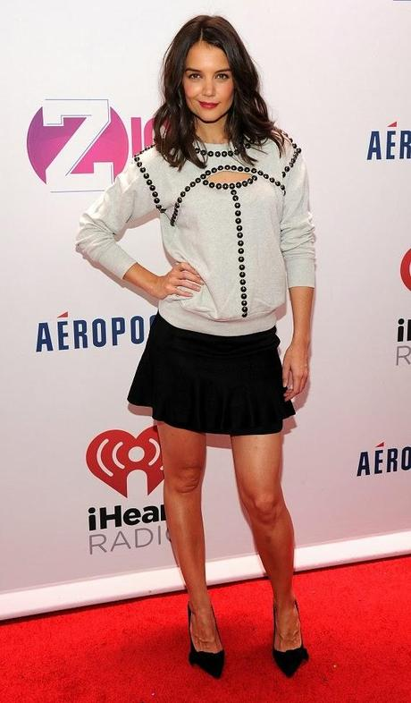 Katie Holmes au Z100 Jingle Ball à New-York - 13.10.2013