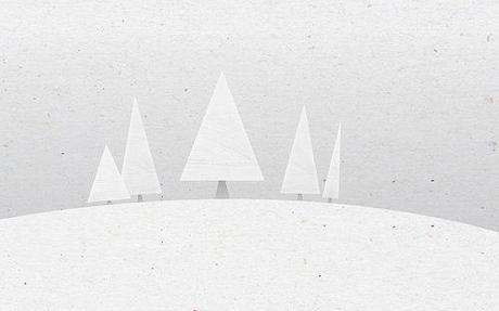 Wallpaper: C'est l'hiver sur votre iPhone (iPad, Mac)...