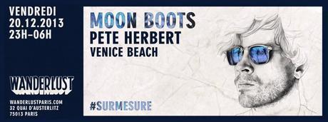 5x2 places pour la soirée Sur-Mesure avec Moon Boots (French Express) au Wanderlust