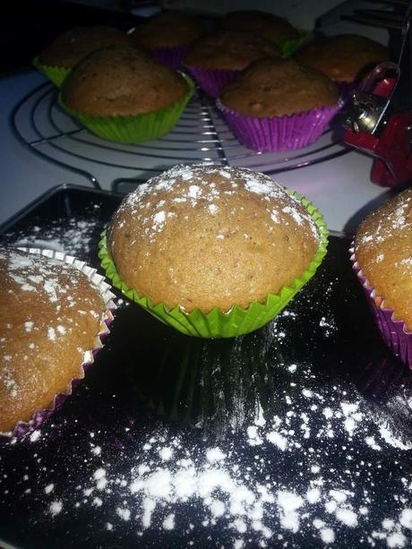 Muffin praliné