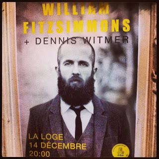 William Fitzsimmons a touché le public de La Loge en plein coeur