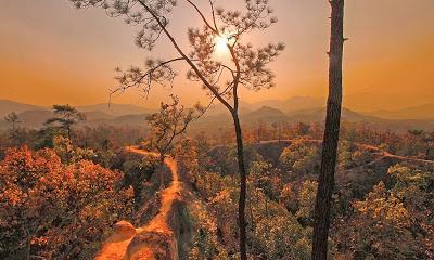 Les canyons du nord Thaïlande [HD]