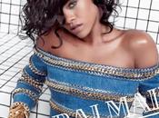 Rihanna nouvelle égérie campagne Balmain pour l'été 2014...