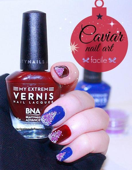 caviar nail art, nail art, caviar, caviar manucure, beautynails, BNA