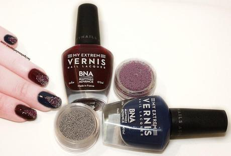 beautynails, bna, nail art, vernis, caviar manucure