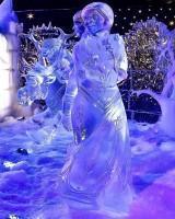 Festival de Sculpture de Glace et de Neige Bruges 2013 : La Reine des Neiges - Elsa