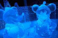 Festival de Sculpture de Glace et de Neige Bruges 2013 : Mickey et Minnie